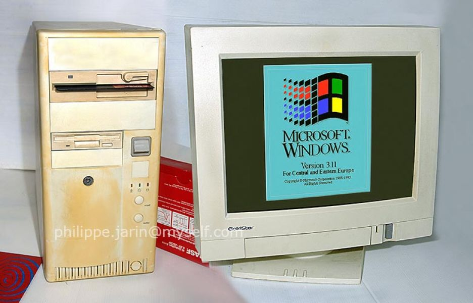Ordinateur PC 386 (Rare collector)
