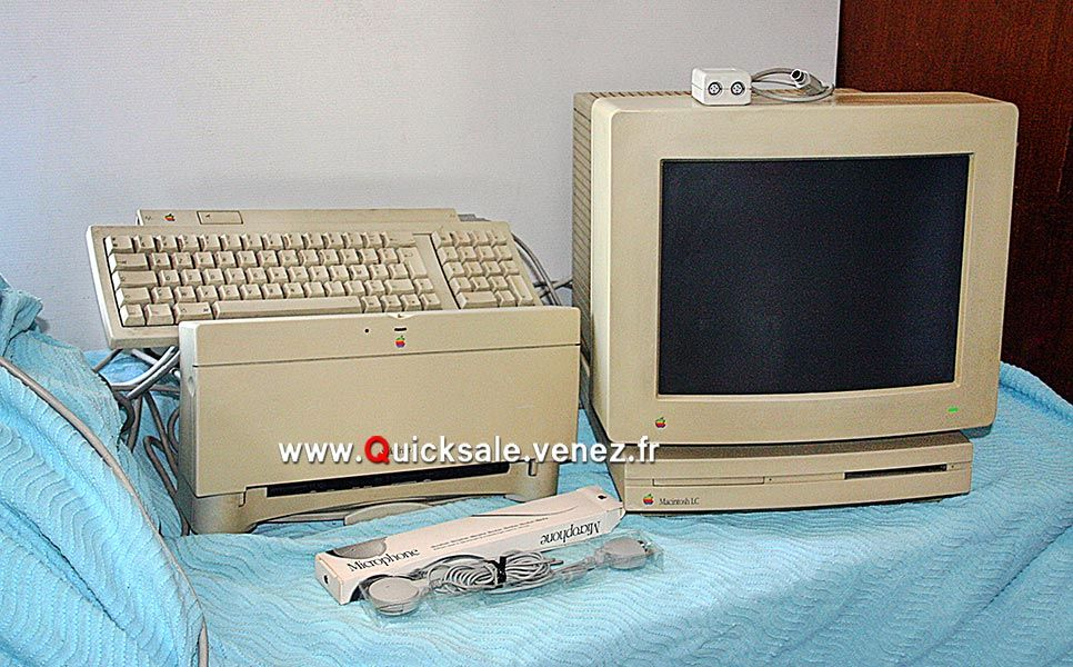 Apple Macintosh LC de 1990 plus... 40€