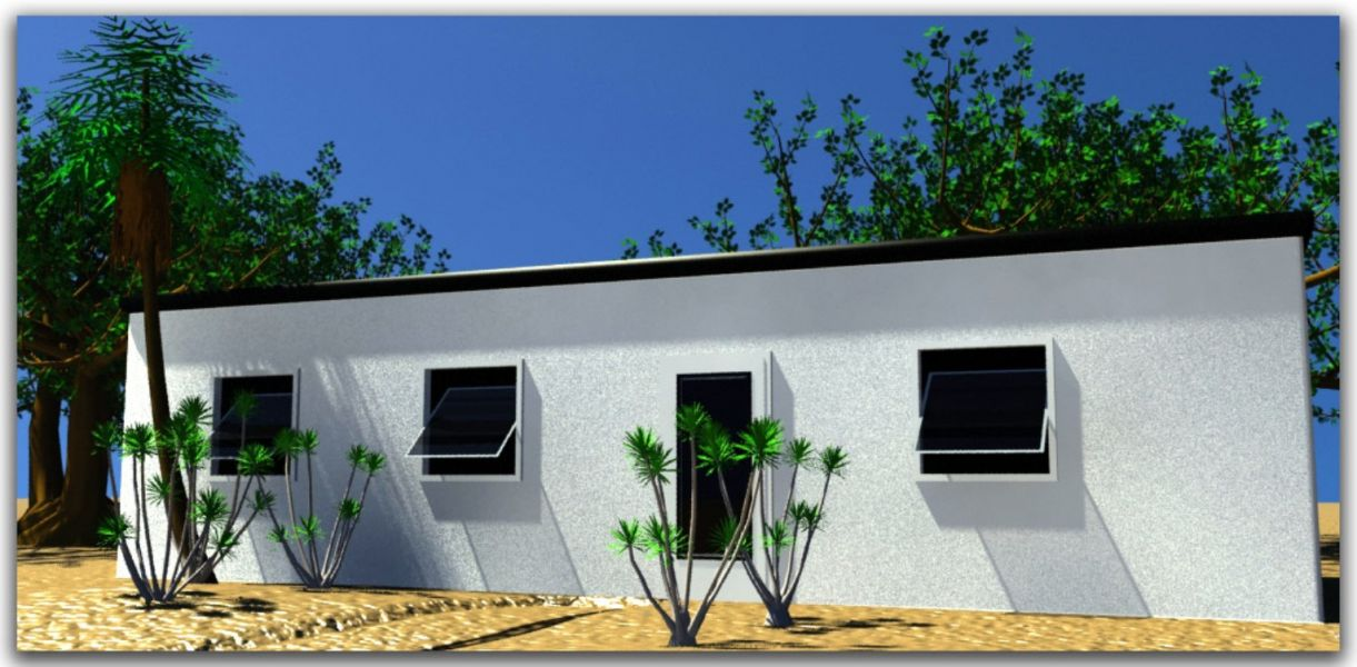 Prefabricated houses any area