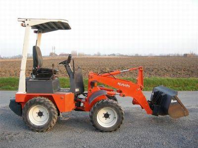 mini chargeur kubota tracteur agricole. Black Bedroom Furniture Sets. Home Design Ideas