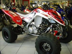 quad yamaha raptor 700cc  version 2010