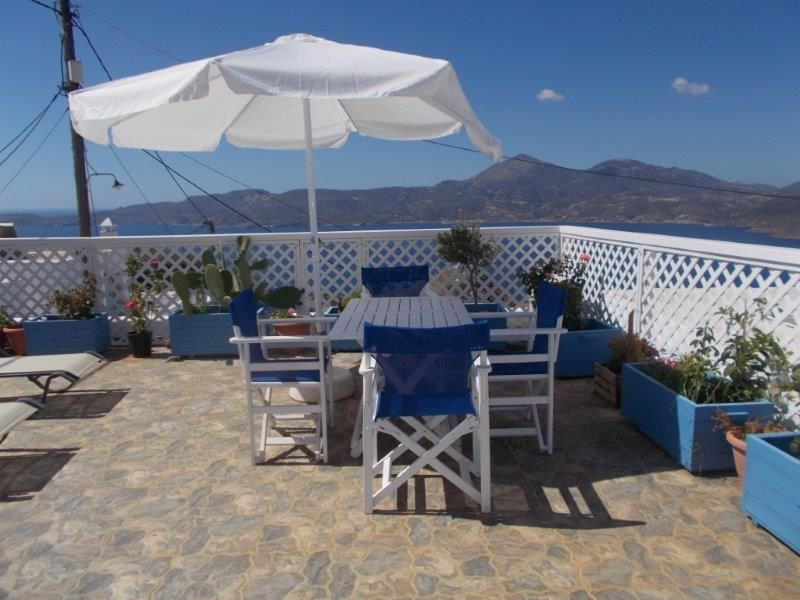 Greece Cyclades island Milos rent house  great for 6 people  of Plaka