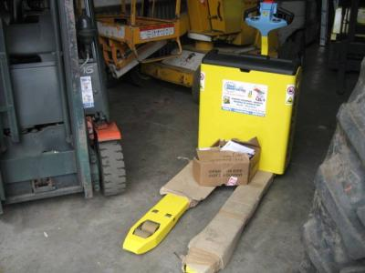 Transpalette elect HYSTER P3.0- AN 2004- 2800€