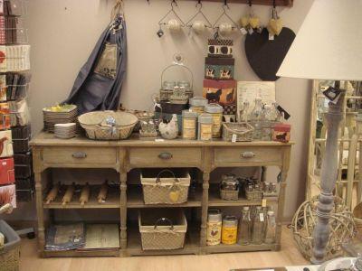 decoration de charme cuisine. Black Bedroom Furniture Sets. Home Design Ideas