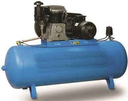 COMPRESSEUR d'air a piston 500L 7.5CV 380V