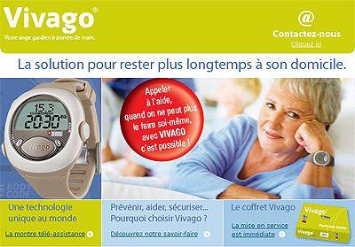 Vivago la solution pour rester à son domicile le plus longtemps possible