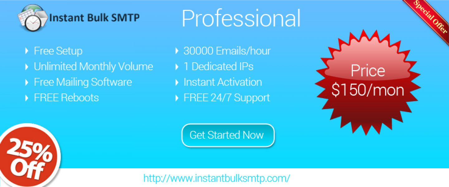 SMTP Server | The best free SMTP Service | Smtp mail servers ...