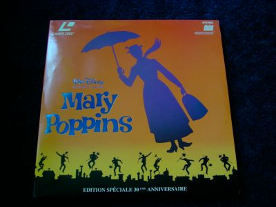 MARY POPPINS EN LASER-DISC.
