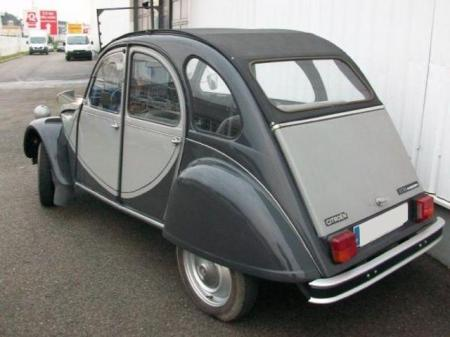Don de ma citroen 2 cv 6 charleston
