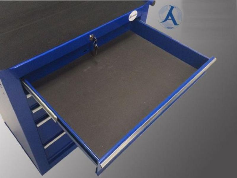 Servante d 39 atelier armoire a outils 5 tiroirs 1000 - Meuble atelier occasion ...