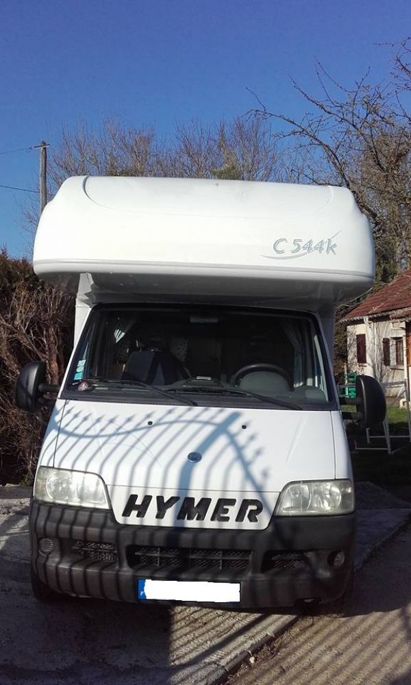 Donne Camping-Car Hymer Camp 544 K